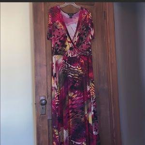 Ashley Stewart plus size maxi dress size 22-24